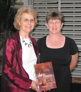 Peta Roberts and Michele Langfield